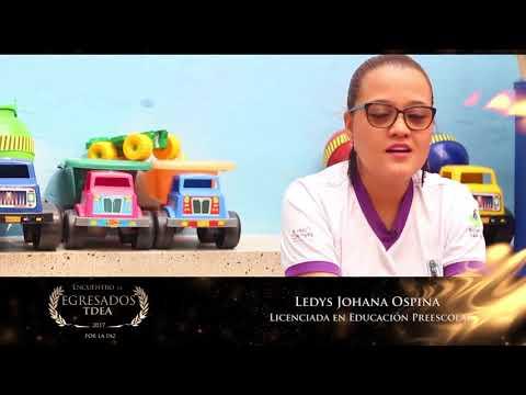 Reconocimiento Egresados TdeA: Leidys Johana Ospina Orozco