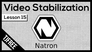 Natron Lesson 15 - Video stabilization with Tracker and Transform nodes