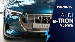 Audi e-tron premiera w Polsce, pierwsze wrażenia, dane techniczne, czas ładowania, zasięg, review PL