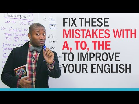 Instantly improve your English with 3 easy words!