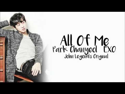 PARK CHANYEOL - ALL OF ME Lyrics Mp3