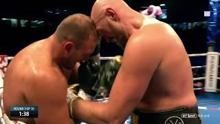 Tyson Fury vs Francesco Pianeta full fight at Windsor Park (Deontay Wilder) - Video Youtube