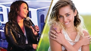 Demi Lovato SPILLS on What She Thinks of Miley Cyrus' New Music