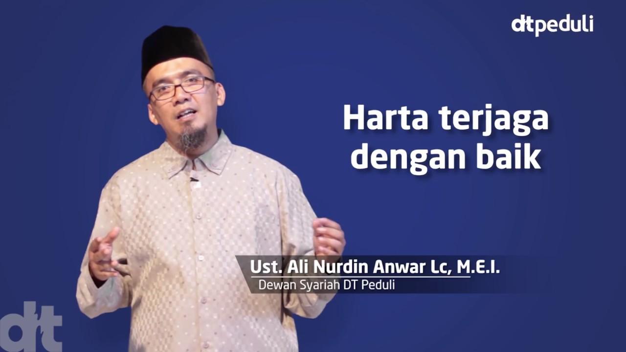 Ustadz Ali Nurdin - Kenapa zakat harus ke lembaga?