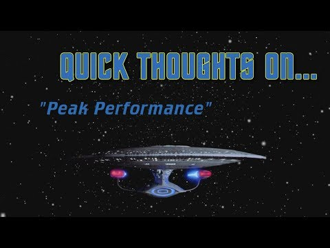 Quick Thoughts On... - Peak Performance
