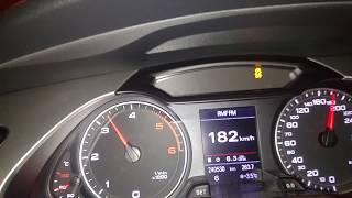 Audi A4 (B8/8K) 2.0 TDI Quattro CHIP acceleration/przyspieszenie 0-210 km/h