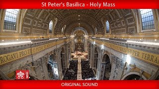 Pope Francis - St Peter's Basilica - Holy Mass 2018-12-12