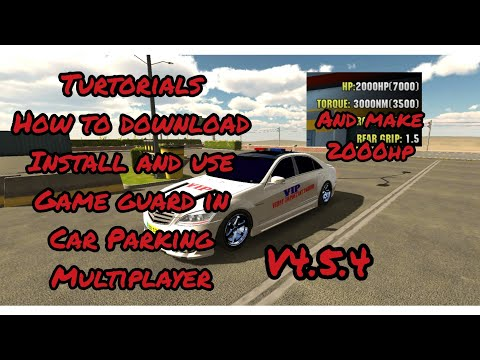 Car Parking Multiplayer- GG tutorials.