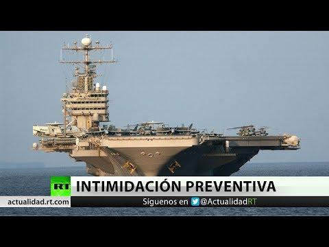 """EE.UU. despliega portaaviones USS Abraham Lincoln como """"aviso"""" a Iran"""