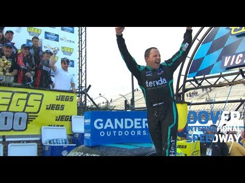 Sauter in Dover Victory Lane: 'One of the best wins of my career'