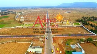 Peram's Aditya Grand Drone View 2018