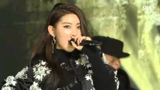 141221 4MINUTE - Whatcha Doin' Today Live HD 2014 SBS Gayo Daejun