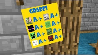 Monster School: Boring Class - Minecraft Animation
