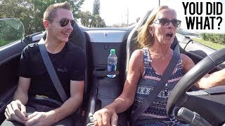 Turbo'd My Mom's Car   Her Reaction Was Priceless!
