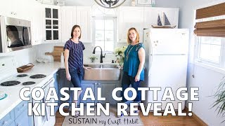 Coastal Cottage Kitchen Makeover Reveal! Tour The Graystone Beach Cottage Remodel