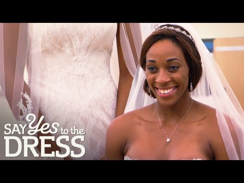 Bridal Parties Compete to Find Glory Johnson a Form-fitting Dress | Say Yes To The Dress Atlanta