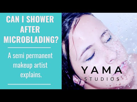 Can I Shower After Microblading? A Hawaii Microblader Explains