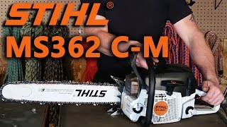 The chainsaw guy shop talk Stihl MS 362 C M Crankshaft