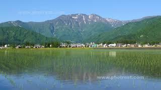 八海山の動画素材, 4K写真素材