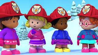 Fisher Price Little People ⭐🚒Firehouse Four ⭐🚒Full Episodes ⭐Cartoons for Kids