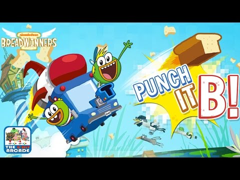 Breadwinners: Punch It B! - Deliver The Bubblegum Rye Today (Nickelodeon Games)
