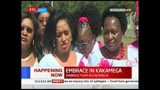 EMBRACE KENYA peace rally in Kakamega, women leaders donate funds