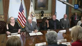 Vice President Pence Joins CMS Administrator Seema Verma for a Listening Session