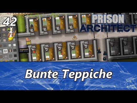 Prison Architect (S2) #42 + Bunte Teppiche