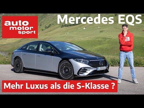 Mercedes-Benz EQS (2021): Kann er Luxus wie die S-Klasse? - Vorfahrt /Review   auto motor und sport