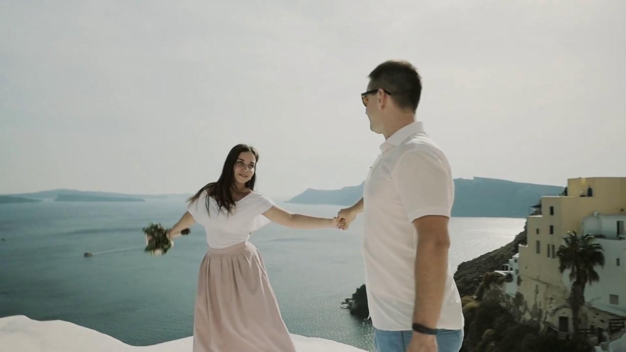 Портфолио свадьбы на острове Санторини - Юлия и Ярослав - Фото 1
