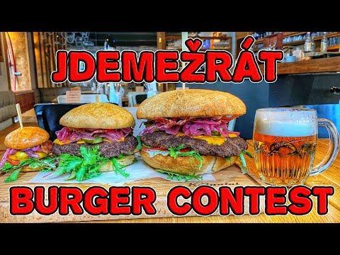 JDEMEŽRÁT BURGER CONTEST - Historická událost v restauraci Kolonial!