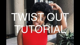preview picture of video 'TWIST OUT TUTORIAL'
