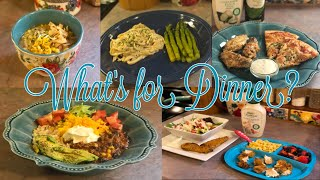 What's for Dinner?  Family Meal Ideas  1st week of January 2019