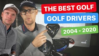 THE BEST GOLF DRIVER OVER THE YEARS