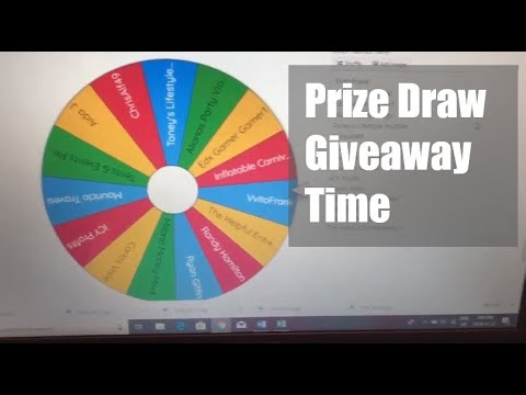 Draw Day! - Event Rental Business Prize Giveaway