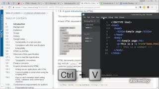 Как создать свой сайт самому, с нуля, бесплатно. Обучение HTML и CSS. Пошаговая инструкция. Урок 3