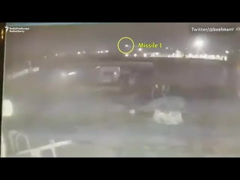 New Video Shows Iranian Missiles Downing Ukrainian Airliner