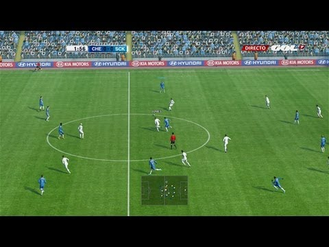 PES 2013 PSP gameplay HD - Barcelona vs Real Madrid