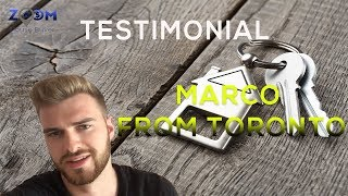 House Selling Companies Canada | Testimonial - Marco from Toronto
