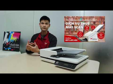 Tìm hiểu về máy scan HP ScanJet 3500 f1