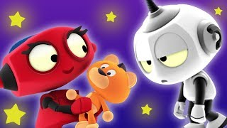 Rob the Robot | Sleepy Heads | Funny Cartoon for Children by Oddbods & Friends