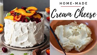 cream cheese frosting no heavy cream