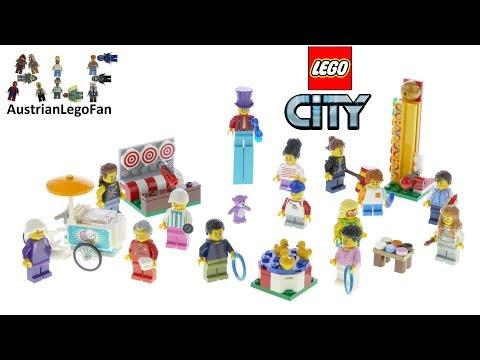 Vidéo LEGO City 60234 : Ensemble de figurines - La fête foraine