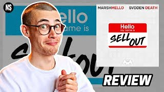 Gambar cover Marshmello & SVDDEN DEATH - Sell Out TRACK REVIEW