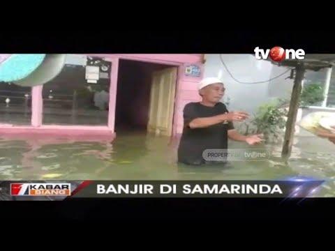 Lebih dari Sepekan Ribuan Rumah di Samarinda Masih Terendam Banjir