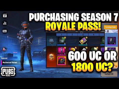 Pubg Mobile Season 7 Elite Royale Pass Upgrading | I Purchased Elite