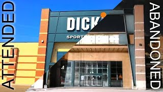 ABANDONED vs ATTENDED - Dick's Sporting Goods Store Comparison