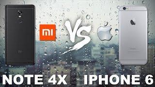 Сравнение Камер Xiaomi redmi Note 4x vs Iphone 6