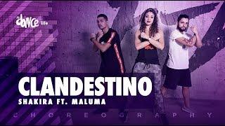 Clandestino - Shakira Ft. Maluma   Fitdance Life  Coreografía  Dance