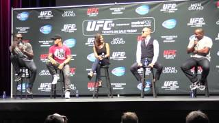 Jon Jones & Daniel Cormier Verbal Sparring (UFC 178 Q&A Media Day  LA)